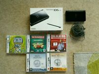 Nintendo DS lite console boxed with games