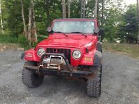 2002 Jeep TJ Sport AS traded special 4X4