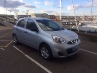 2014 NISSAN MICRA Facelift Model in Metallic SILVER CAT D 4,500 Genuine Miles EXCELLENT CONDITION