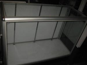 Store Display Glass Showcase / Shelf / Cabinet. 38H x 48W x 20D. 3 Shelves. For Jewelry, Phone, Shoes. Watch Shop