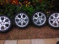 17 inch Honda Epsilon alloy Wheels