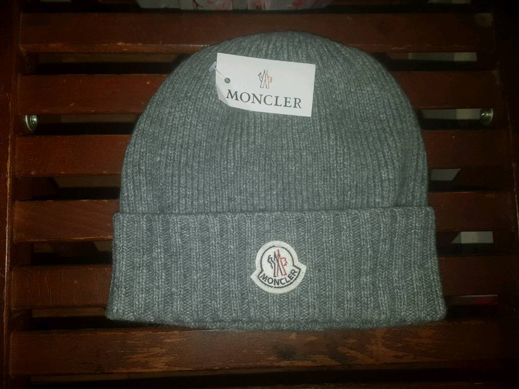 8160c72f2504 Moncler new with tags wooly hat