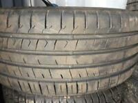 235/45/17 fairly used tyres. X2