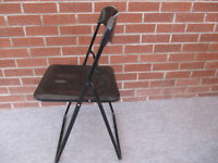 40 No. Black Folding Chairs
