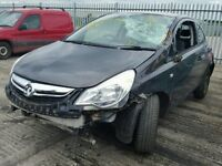 Vauxhall Corsa D facelift 13 plate 2862 miles A10XEP Dark grey breaking for spares.