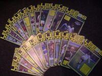 Football Programmes - Leeds Utd Home 1980's