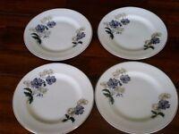 Grafton bone china teaplates (4)