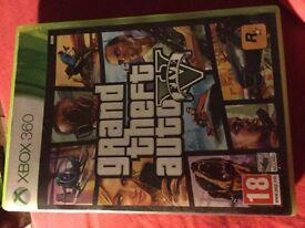 Grand theft auto five Xbox 360