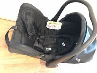baby car seat for £25