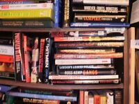 10 GREAT BOOKS ON POLICE CRIME, GANGS, CRIMINALS,MURDER...ETC GREAT COLLECTION