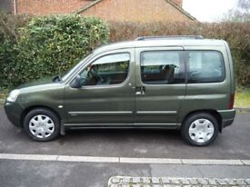 Citroen Berlingo Multispace 2005, 2L HDI, *78.4k miles*, FULL SERVICE RECORDS, 2 OWNERS, 5sp Manual
