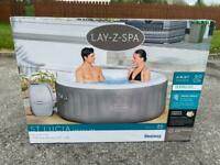 BRAND NEW 3 person lay z spa lazy spa St Lucia hot tub