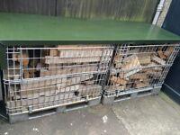 Firewood bunker / Log shelter