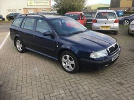 2002 Octavia Estate 1.9 Diesel...New 12 Mth MOT....Hi Miles but drives great....1st to See will Buy