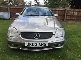 SLK32 AMG 2003 3.2 V6 Supercharged 354bhp Mercedes Benz very rare