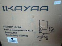 Ikayaa black office chair