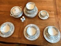 8 place setting bone china dinner service