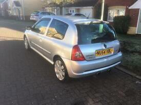 Renault Clio Sport 182 Remapped, Exhaust, cone filter, omp steering wheel.