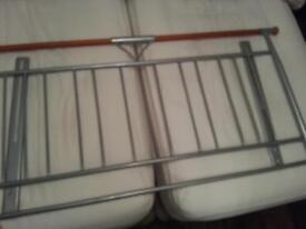 DOUBLE BED HEADBOARD/FRAME