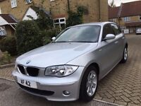 BMW 1 SERIES AUTO DIESEL AUTO ONLY 30K MILES 1 OWNER WITH FULL BMW HISTORY FULL LEATHER
