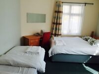 Fab 1 bedroom rooms all with en suite facilities..great location 50m from the sea !!