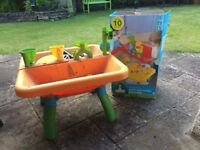 Sand and Water Stand for kids