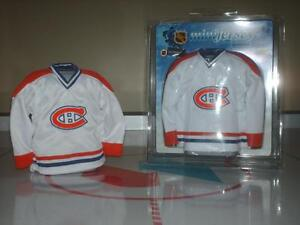Montreal Canadiens Habs MINI Jersey collectible memorabilia