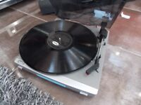 Bush turntable vinyl record player- recent stylus built in pre-amp