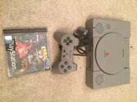Sony Ps1 console and crash bandicoot 2