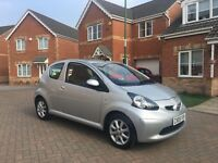 TOYOTA AYGO PLATINUM 1 LITRE, LEATHER, MOT 12 MONTHS, FULL HISTORY, TAX £20