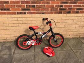 Avigo 16'' Mischief bike with helmet
