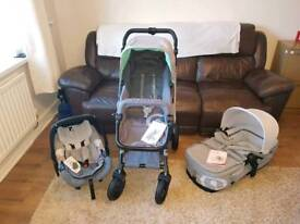 Concord Wanderer 3 in 1 travel system