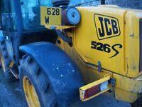 jcb telehandler parts for 526