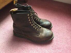 Dr Marten Boots - Brown Leather - Size 7