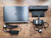 Dell Latitude E6520 i5 with Docking Station
