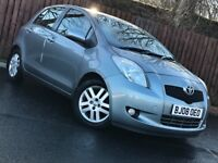 **LOW MILEAGE** 2008 TOYOTA YARIS 1.3 VVT-I 5 DOOR LONG MOT