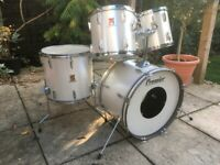 Vintage Premier Royale Drum Kit - 4 Shell Pack - UK Made - Mid 80s - Stunning