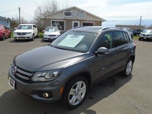 2014 Volkswagen Tiguan Comfortline LEATHER SUNROOF AWD