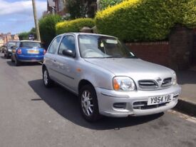 Nissan Micra for sale, spare and repair, 1L with 135000 on the clock. great for parts or a fix up