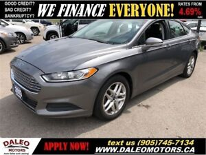 2013 Ford Fusion SE| BLUETOOTH| SAT RADIO CRUISE CONTROL