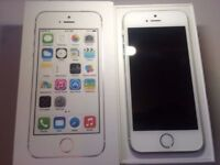 APPLE IPHONE 5S 64GB SILVER - VERY GOOD CONDITION UNLOCKED ALL NETWORKS