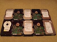 10 x PC Computer Hard Drive Memory