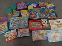 LARGE PUZZLES/GAMES COLLECTION 3