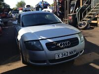 2001 Audi TT 1.8 T 225 quattro silver BAM DQB LY7W BREAKING FOR SPARES