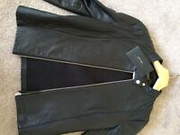 ZARA ladies xs leather fitted jacket brand new with tags size 6-8