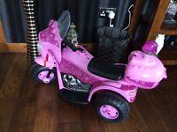 Girls Police Motorbike Toy