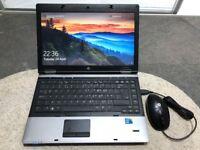 "HP Probook Laptop 6450b/14"" Intel i5 M450 2.40GHz/4gb Ram/320gb HD/Windows 10 Pro ref:7"
