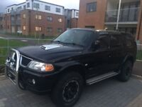 FULLY SERVICED Mitsubishi SHOGUN WARRIOR SPORT * NEW ENGINE BELTS *SOUNDS GREAT DRIVES LIKE A DREAM*