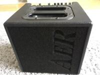 AER Alpha 40 Acoustic Guitar Amp and padded case. Excellent condition