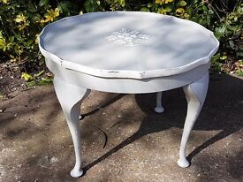 Shabby Chic painted coffee/ Side table painted Annie Sloan